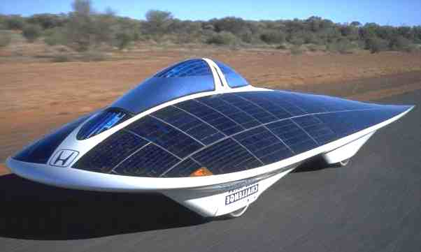 Green Car Solar Powared environmentally friendly