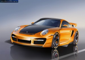 Concept car Porsche 911 Turbo TechArt GTstreet Model 997