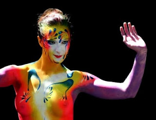body paint women