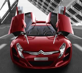 Citroen C-Metisse Concept Car futuristic for future