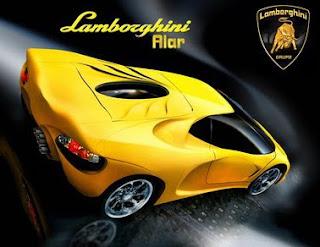 Luxury Design Futuristic Lamborghini Spiga concept car