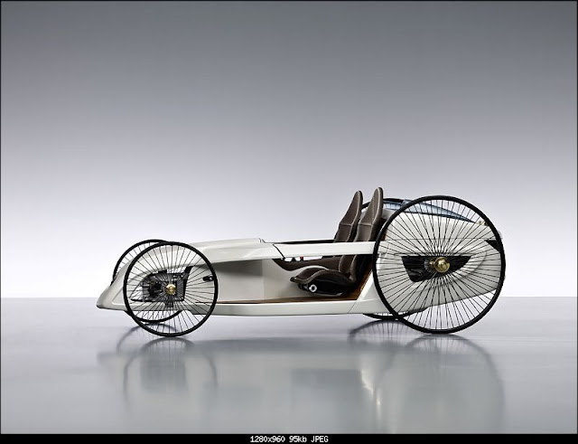 Modern Design F-Cell Roadster