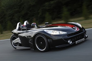 Bike, Can-Am Spyder, car, meets, Renault, riders, sports, Three-Wheeled