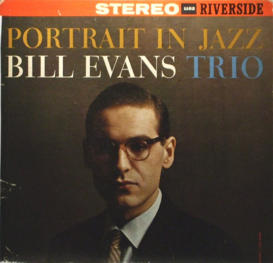 bill evans trio - portrait in jazz (sleeve art)