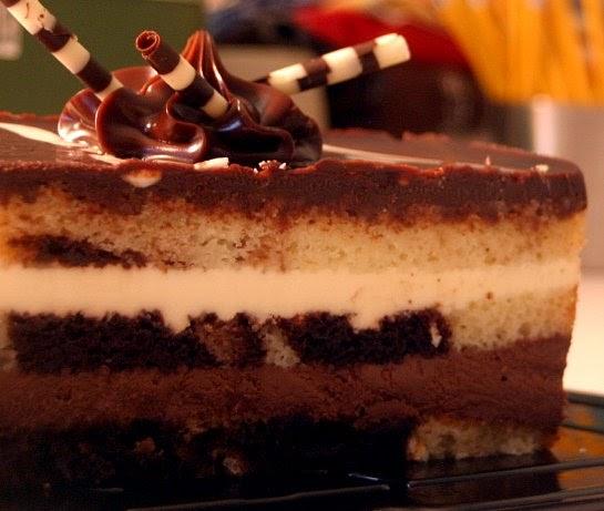 Copper Sweets Tuxedo Truffle Mousse Bar Cake Heaven