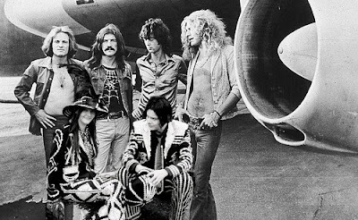 Led Zeppelin | white stripe