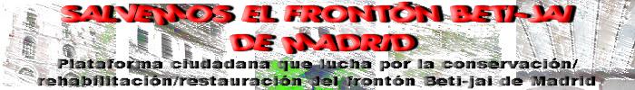 Salvemos el Frontón Beti-jai de Madrid