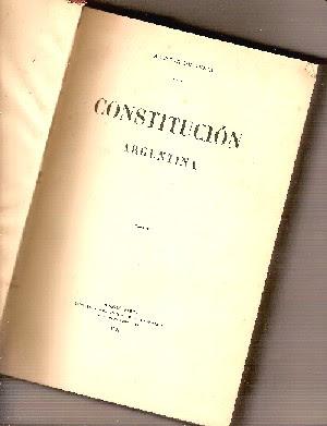 La Constitucion Nacional Argentina