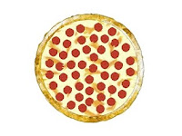 3D Beef Pepperoni Pizza available at Shutterstock - click now
