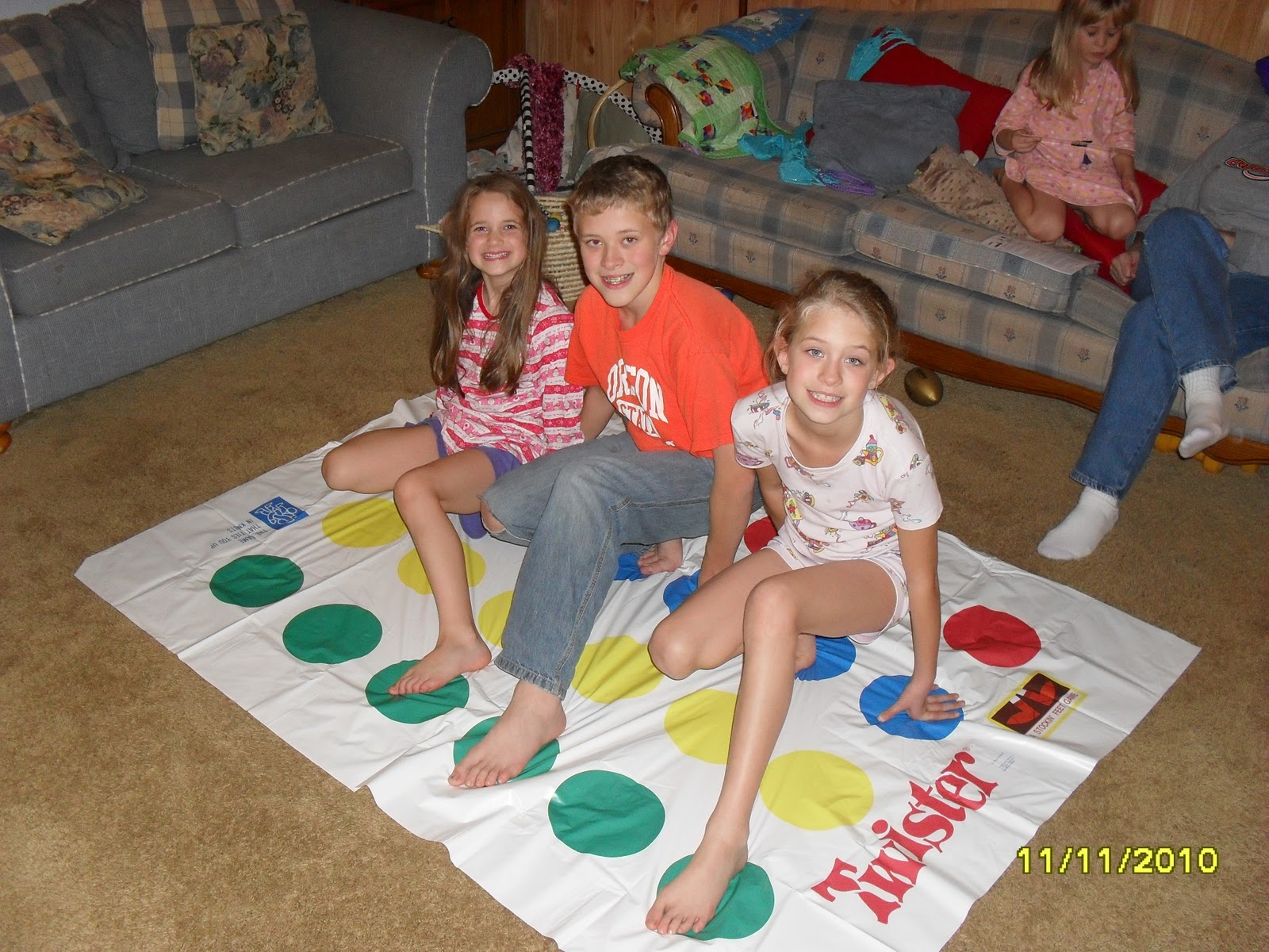 from Jeffrey little girls playing twister