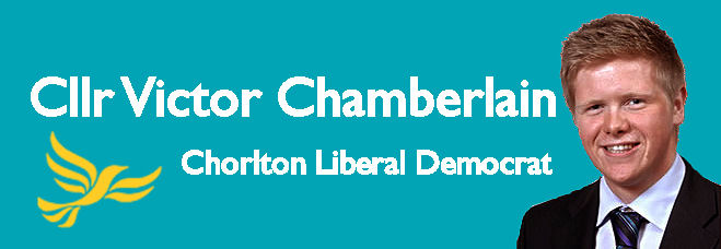 Cllr Victor Chamberlain - Chorlton Liberal Democrat
