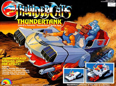 Thundercat Tank on Thundercats  Thundertank