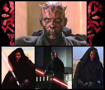Darth maul fighting