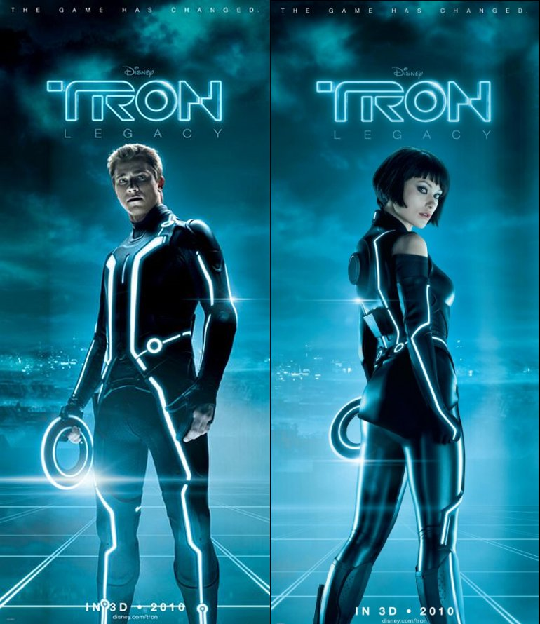 TRON: LEGACY Obviously, this is allowed. And it stands to
