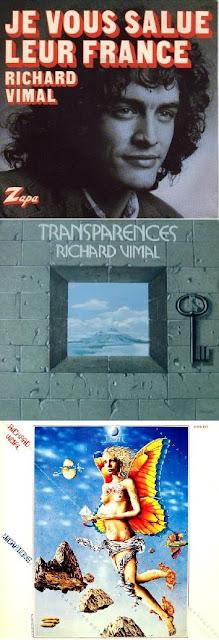 Los otros tres discos que publicó Richard Vimal
