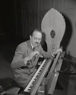 El ondes Martenot interpretado por su inventor Maurice Martenot