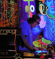 Zorch durante su concierto en la Gong Family Unconventional de Amsterdam en 2006