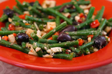green beans with roasted green beans with lemon while the beans cook ...
