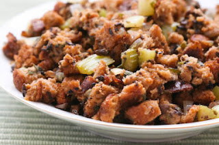 South Beach Diet Friendly Whole Wheat and Mushroom Stuffing
