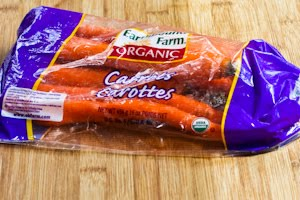 ... organic carrots for a recipe like this because the organic carrots are