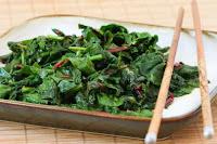 Stir-Fried Radish Greens and Chard