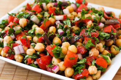 Chickpea (Garbanzo Bean) Salad