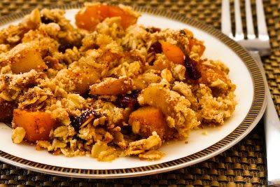 Pumpkin Apple Crumble
