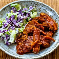 ... Kitchen®: Slow Cooker Pulled Pork with Low-Sugar Barbecue Sauce