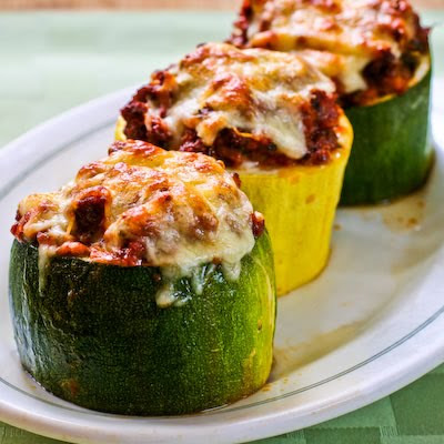 stuffed zucchini cups