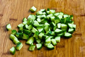 Recipe for Kiwi, Mango, and Cucumber Salsa with Lime and Jalapeno ...