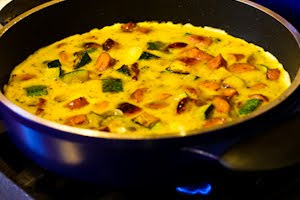 ... Recipe for Frittata with Zucchini, Sun-Dried Tomatoes, and Sausage