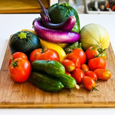 fall garden produce