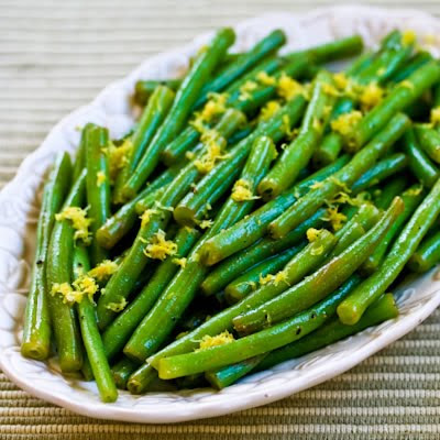 Lemony Green Beans