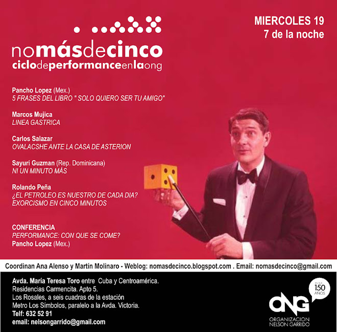 invitación nomasdecinco III septiembre 2007