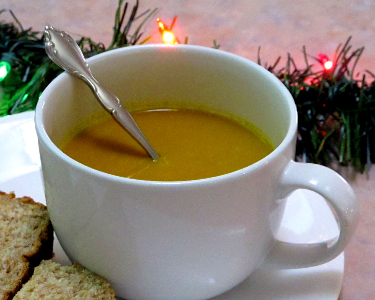 Simple. Healthy. Tasty: Spicy Pumpkin Soup