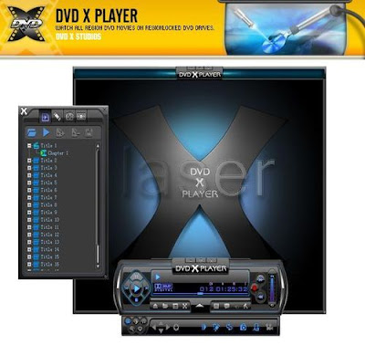 DVD X Player is the first region free/code free software DVD player in the