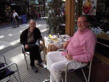 Con Enrique Carpintero