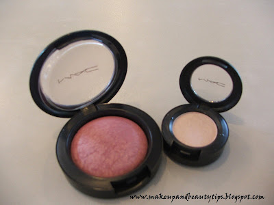 Mac Gentle Mineralize Blush and Phloof Eyeshadow Makeup Reviews