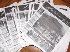 Primeira edição Jornal Taruíra