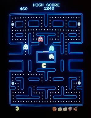 671 - Scared Ghost & Pac-Man - Pattern | Flickr - Photo Sharing!