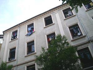 Facciata della Guesthouse di Kunkapi, a Istanbul