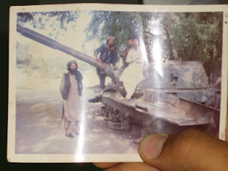 Foto di guerriglieri taliban