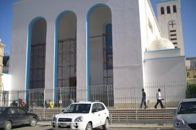 La chiesa di San Francesco, a Tripoli