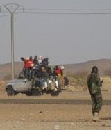 Barrage de la police à Agadez
