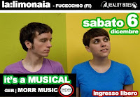 IT'S A MUSICAL live @La Limonaia + La Belle Epop & Polaroid Djset Fucecchio (Firenze)