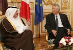 8 janvier 2010 : Villepin reçu comme un chef d'Etat à Doha