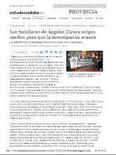LA FAMILIA DE ANGELINES EXIGE MAS MEDIOS