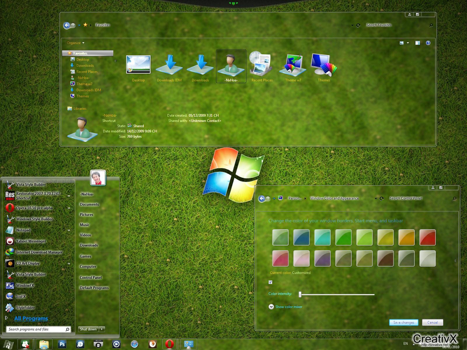 Permalink to Tema Windows 7
