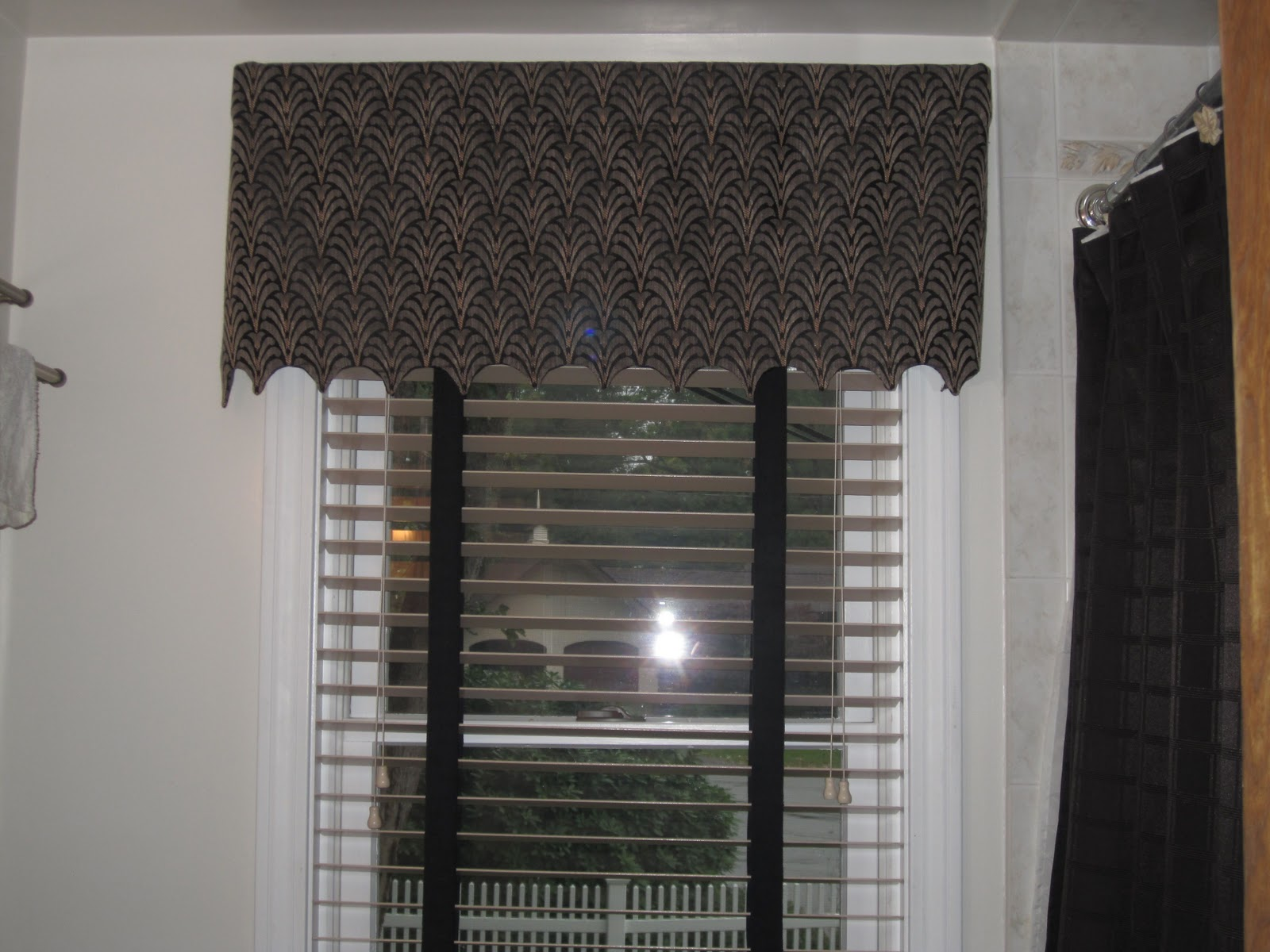 Bathroom window curtains are
