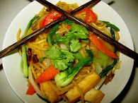 Asian Noodle Stirfry recipe